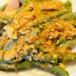 Green Bean and Canadian Bacon Casserole Recipe