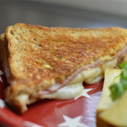 Ham and Pear Panini Recipe