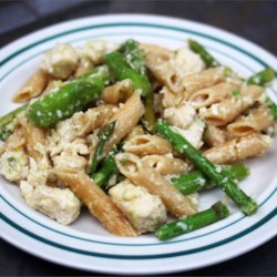Lemon Asparagus Pasta Recipe