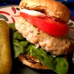 Moist Spicy Turkey Burgers Recipe