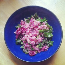Quinoa, Beet, and Arugula Salad Recipe