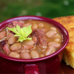 Southern Ham and Brown Beans