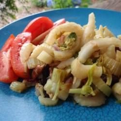 Celery Almandine Recipe