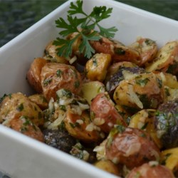 Roasted New Potato Salad With Olives Recipe