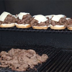 Grilled Venison Scape Sandwich Recipe