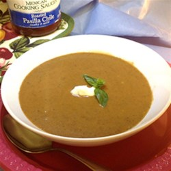 HERDEZ(R) Pumpkin Mole Soup Recipe