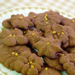 chocolate spritz cookie press printer friendly