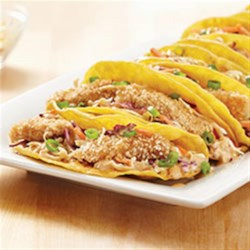 KRAFT RECIPE MAKERS Asian Fish Tacos Recipe