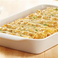 KRAFT RECIPE MAKERS Verde Chicken Enchiladas