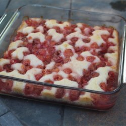 Sour Cherry Pudding Cake Recipe
