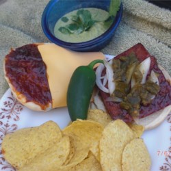 Barbecued Spam Sandwiches Recipe