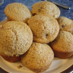 huckleberry muffins with oat bran printer friendly
