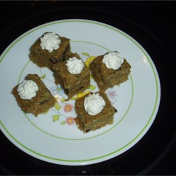 Carrot Bars Recipe