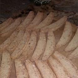 Crunchy Almond Biscotti |