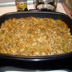 Eggplant and Mushrooms with Wild Rice Recipe