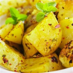 Becel® Lemon Roasted Potatoes Recipe