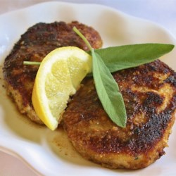 Parmesan Sage Pork Chops Recipe