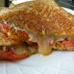 Pesto Grilled Cheese Sandwich Recipe