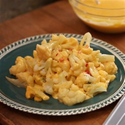 Photo of Utokia's Cauliflower in Bell Pepper and Cheese Sauce by Reynolds Kitchens®