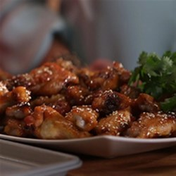 Ashley and Whitney's Honey BBQ Wings Recipe