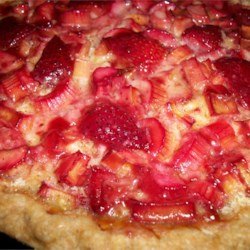 Strawberry Rhubarb Custard Pie Recipe