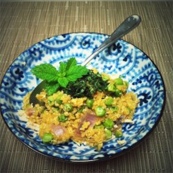 Quinoa with Peas