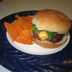 Savory Beefy Burgers