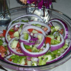 Tomato and Pepper Salad Recipe