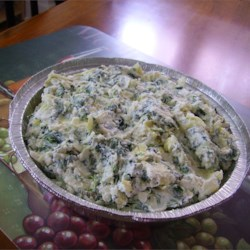 Really Wicked Spinach Artichoke Dip