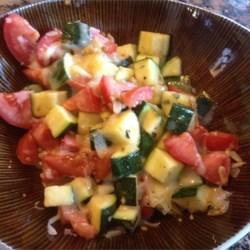 Zucchini Caprese Recipe