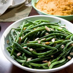 Green Beans with Toasted Almonds