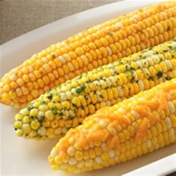Photo of Corn on the Cob Topping Twisters - Cheddar BBQ by Becel®