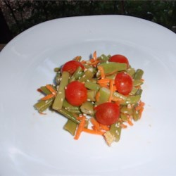 Crisp Green Bean Salad Recipe