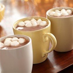 Photo of Creamy Hot Chocolate by Eagle brand