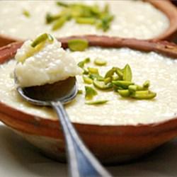 Fereni Starch Pudding Recipe