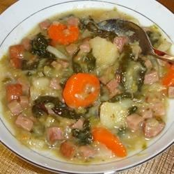 Hearty Harvest and Ham Stew