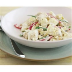 Mediterranean Chicken and Vegetable Farfalle Recipe
