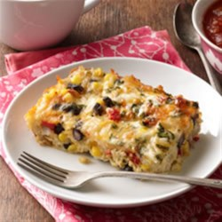 Photo of Mexican Brunch Bake by KRAFT Shredded Cheese