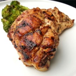 Sweet Hot Mustard Chicken Thighs Recipe