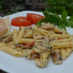 Artichoke and Roasted Red Pepper Pasta Recipe