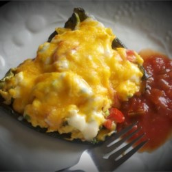 Breakfast Stuffed Poblano Peppers Recipe