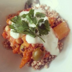 Vegetarian Moroccan Stew Recipe