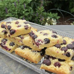 Blueberry Shortbread Bars