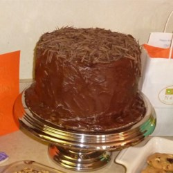 Dark German Chocolate Cake |
