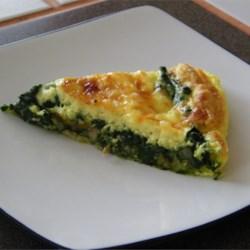 Spinach Quiche Lorraine