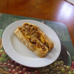 Mushroom Cheeseburger Calzones Recipe