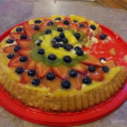 Fresh Fruit Flan Recipe