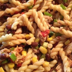 Barbeque Chicken Pasta Salad Recipe