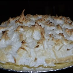 Coconut Cream Pie IV Recipe