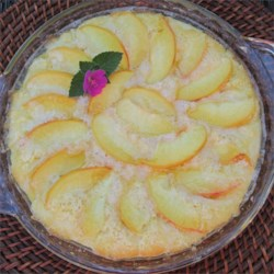 Peachy Baked Pancake Recipe
